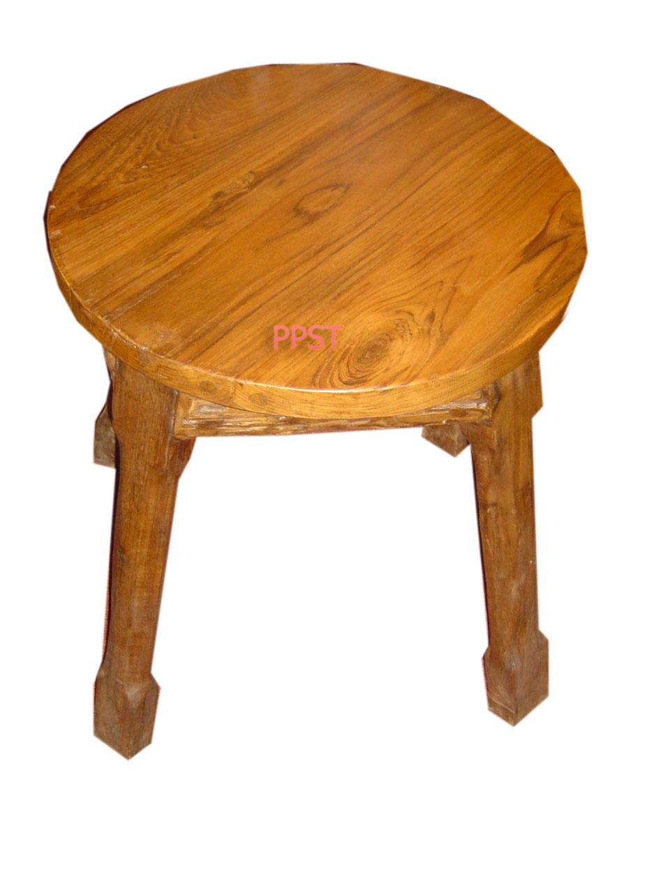Antique stool-sn033