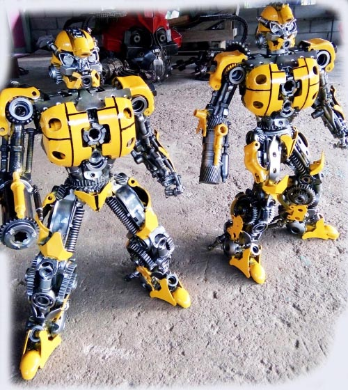 Recycle Metal Robot-36