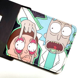 Coin Purse Anime Cartoon Wallet Rick And Morty Men Women's Wallets Gift Boy And Girl Purse With Coin