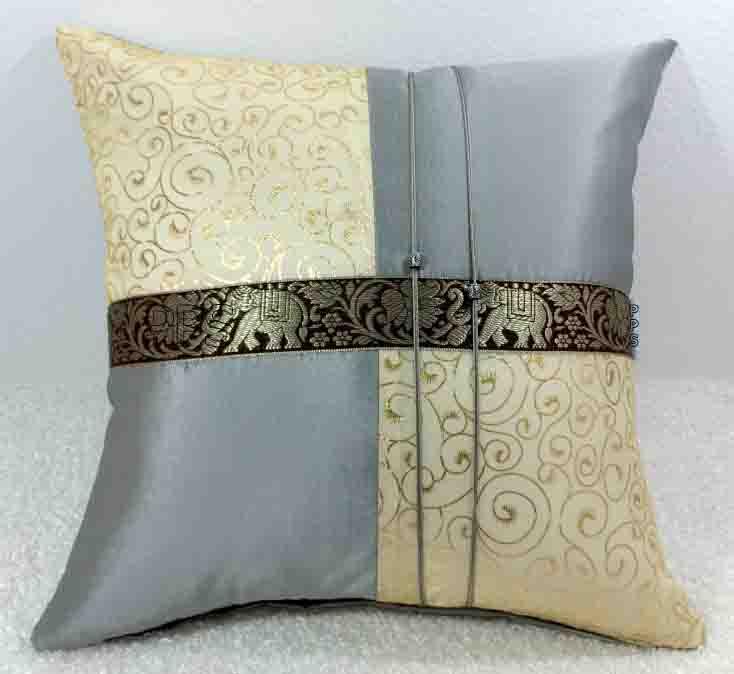 Silk Cushion Pillow Case-259