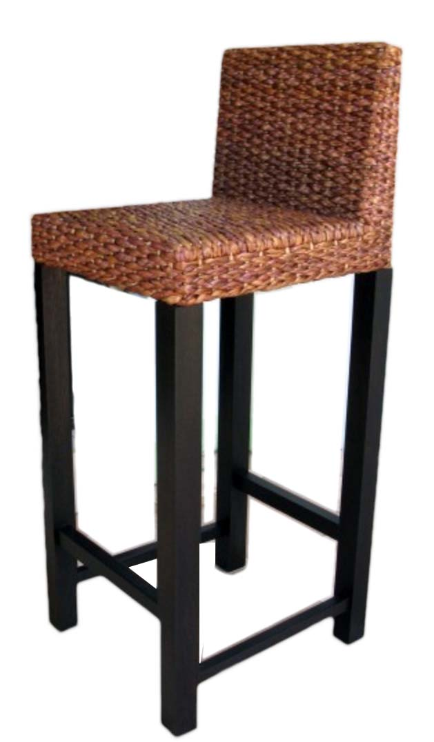 PS-Rattan Stool2- SL2