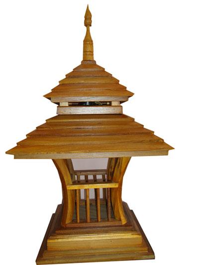 Teak Lamps 140102-w