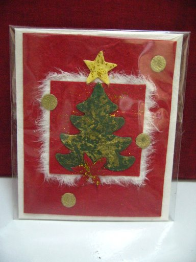Mulberry Paper Christmas Card-35