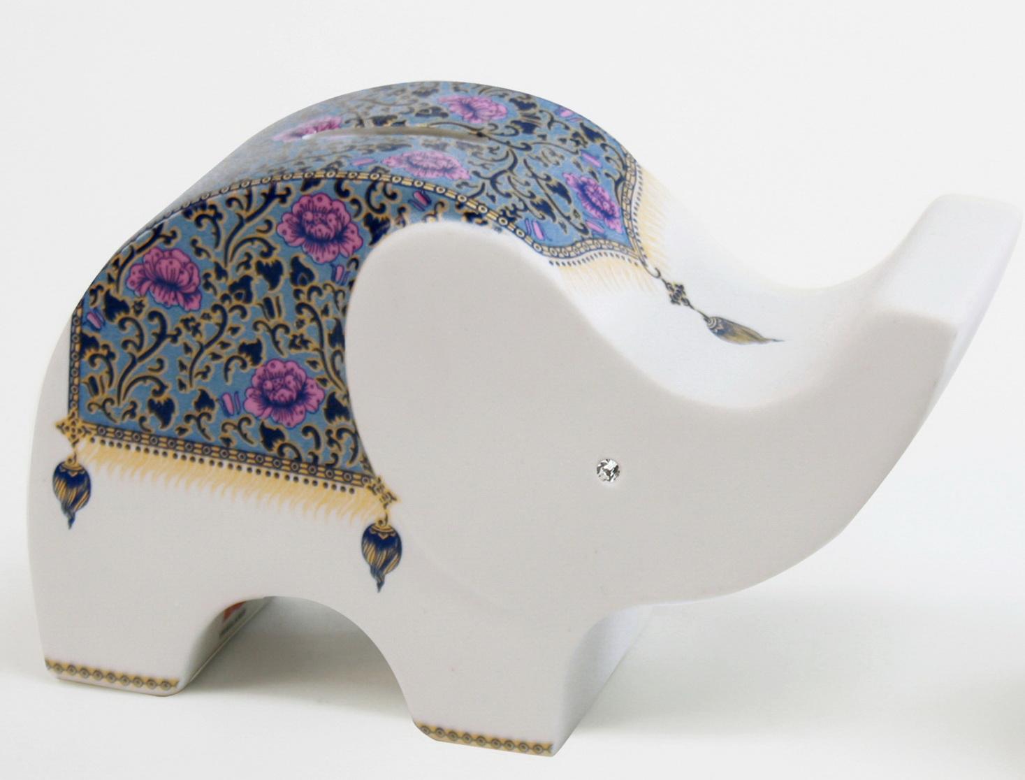 Elephant Ceramic Vase-17