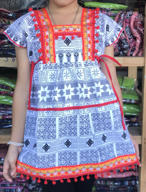 tribal girl dress