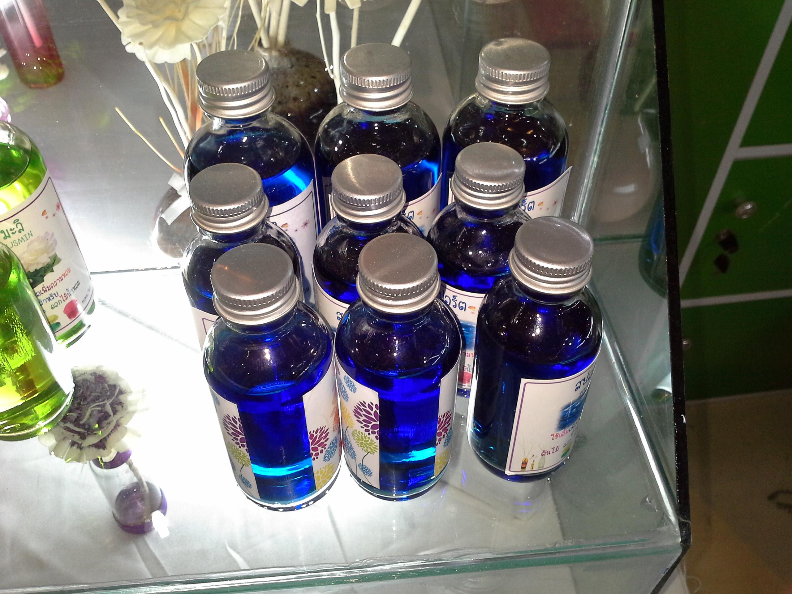 Blue fragrance