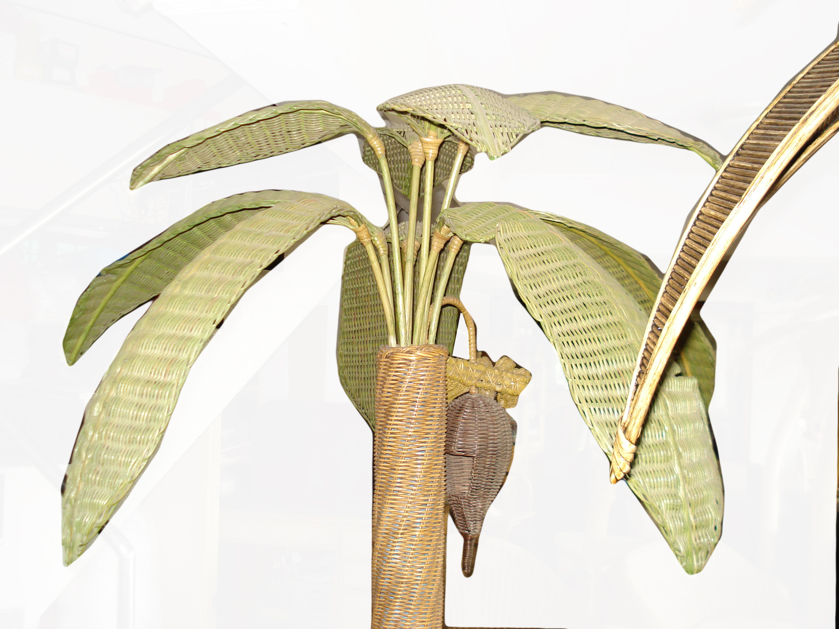 Banana Tree from rattan
