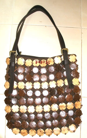 Coconut Shell Bag 2676-1