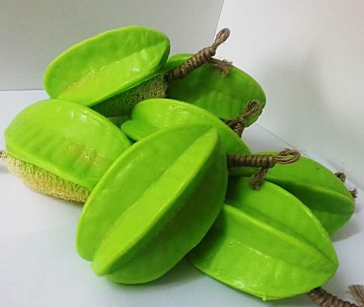 Bathing soap - In Starfruit Shape 6