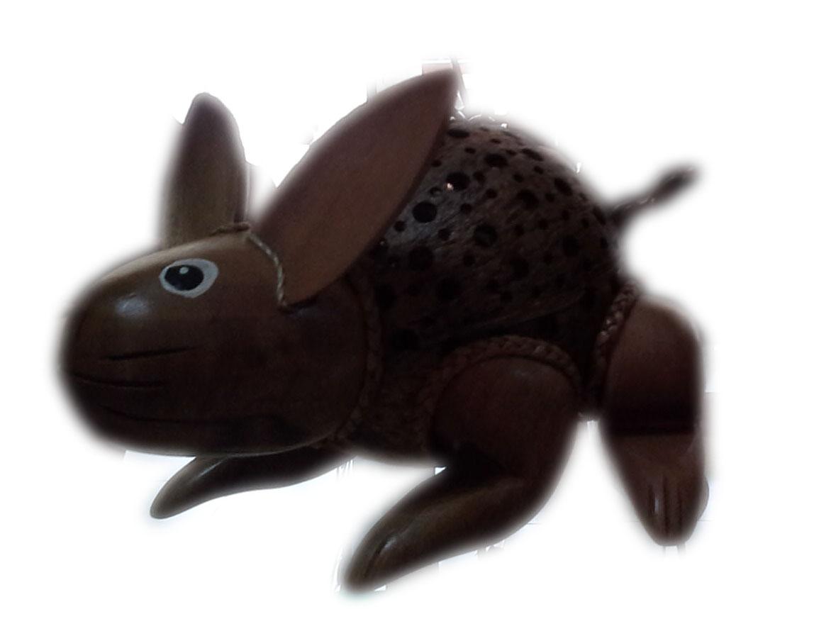 coconut shell saving doll-rabbit