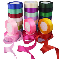 """1 Factory Hot Sell  Satin Ribbon for Crafts Bow Handmade Gift Wrap Party Wedding Decorative"""""""