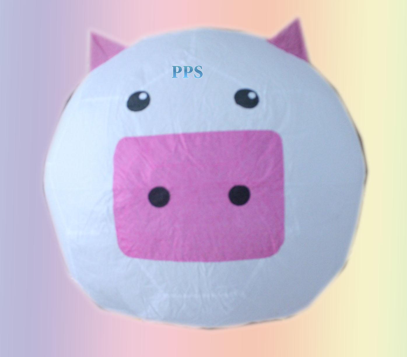 Sky Lantern-pigpink