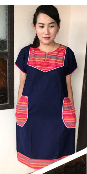 Cotton Dress-BNB-CMCD030