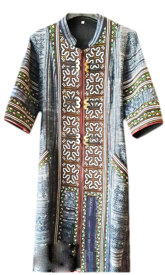 Tribal Patter Dress-08