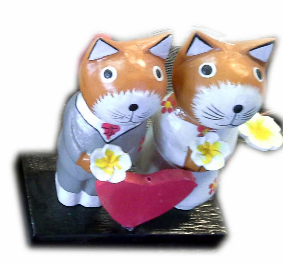 Wood Wedding Kitties-2