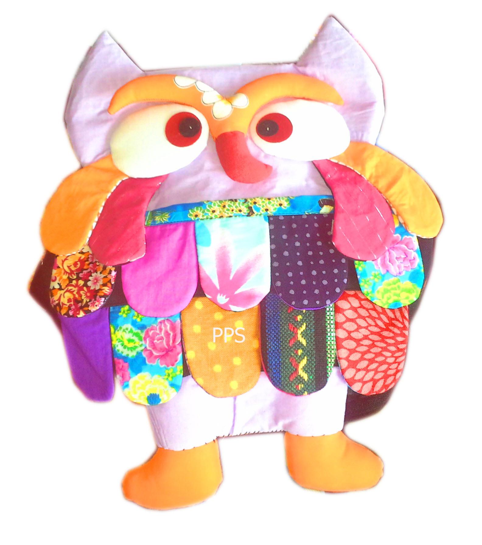 Cotton Owl Bag 16