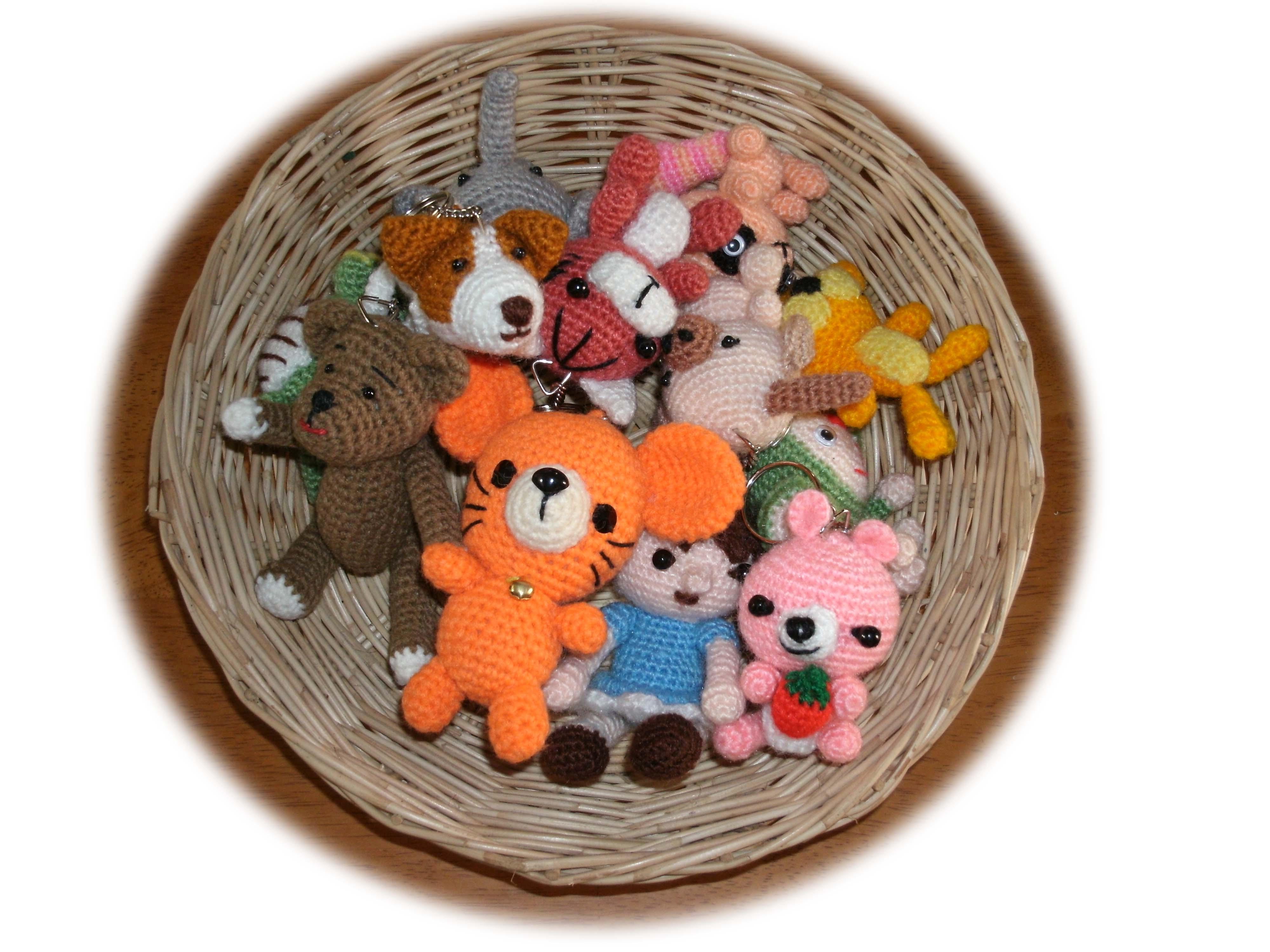 Crochet Doll Keyring-GEDC0017