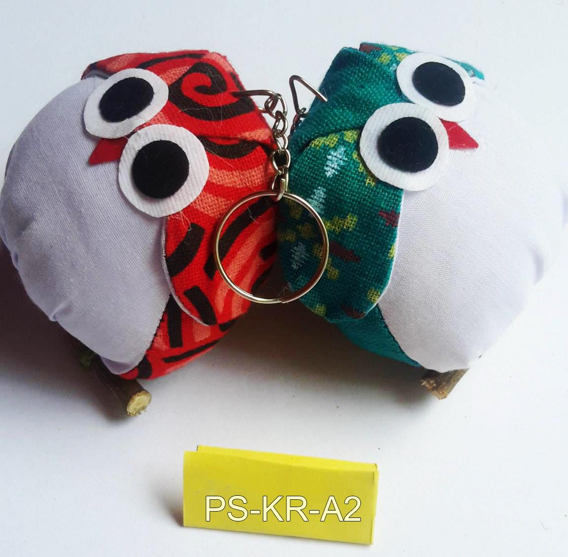 Cotton owl keyring-PS-KRA-2