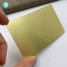 SMDT  Metal business card full color printing  factory price