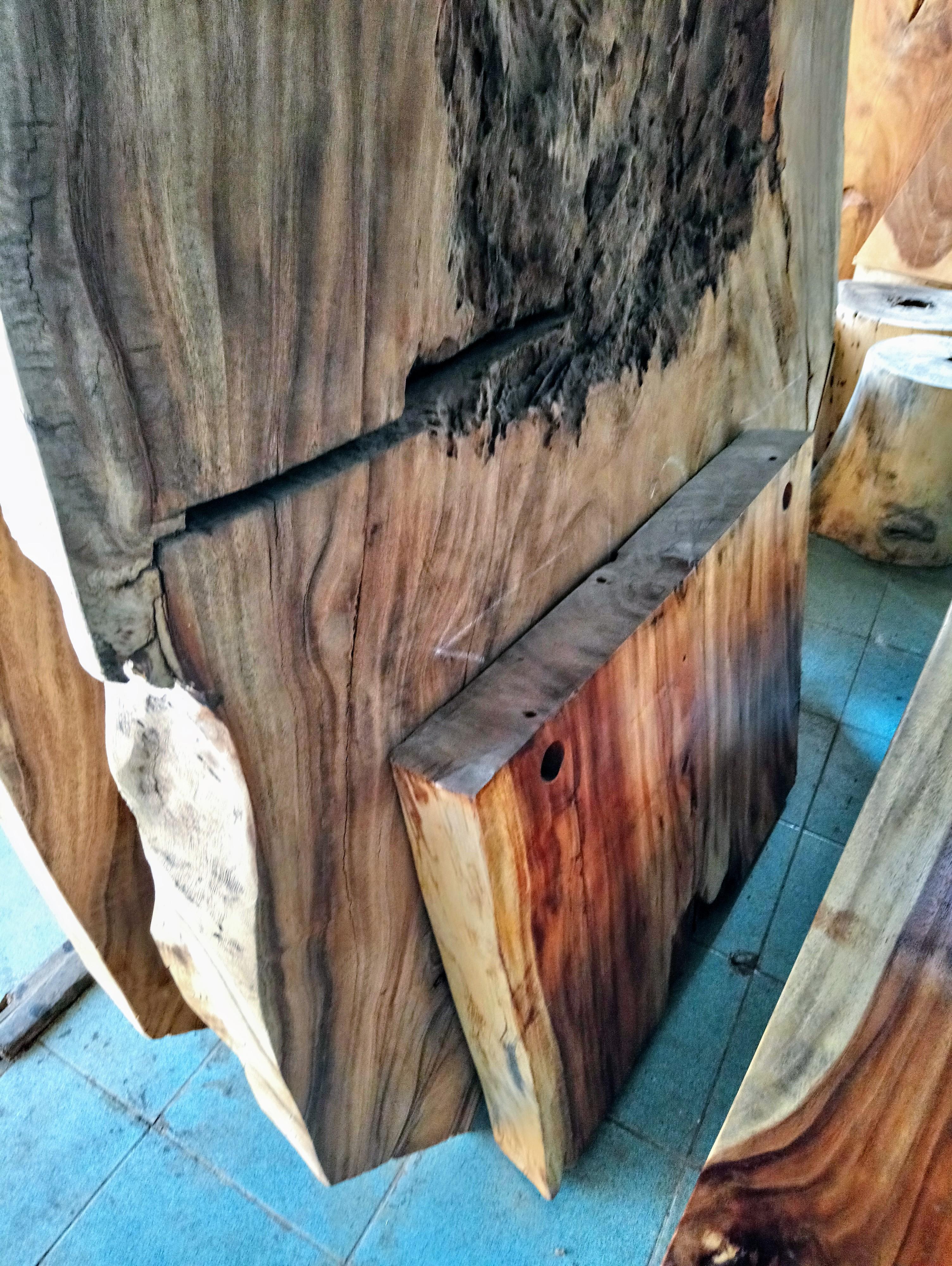 Large Rain Tree Wood Table_1597