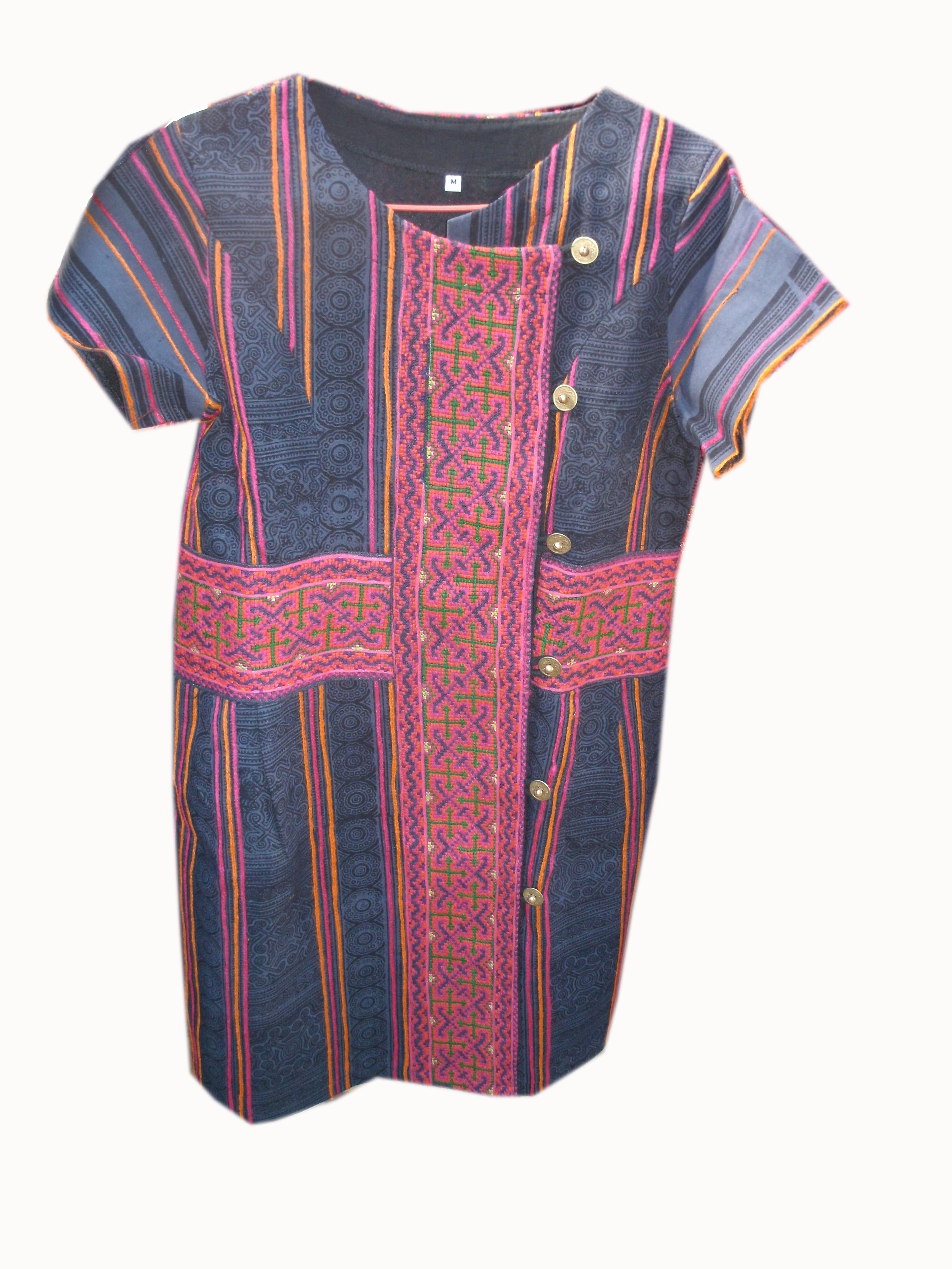 Tribal Pattern Dress-10