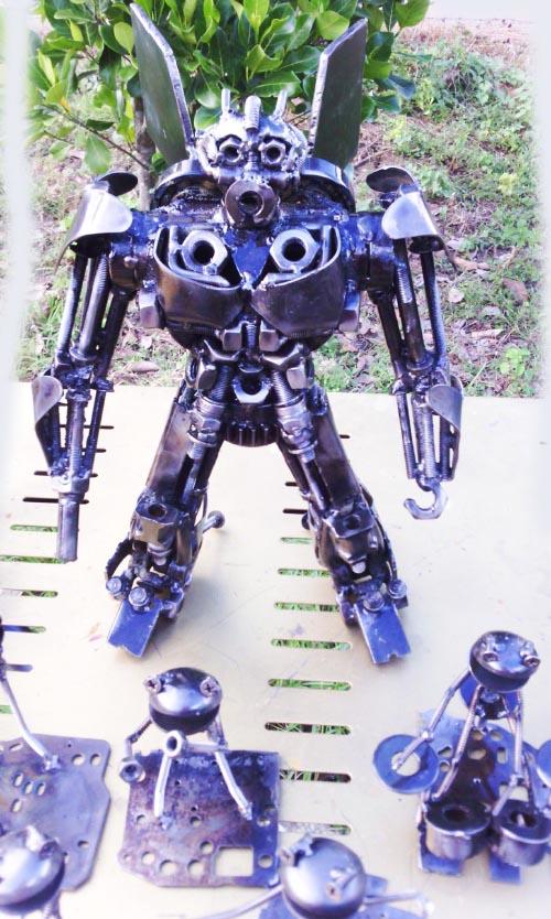 Recycle Metal Robot-37