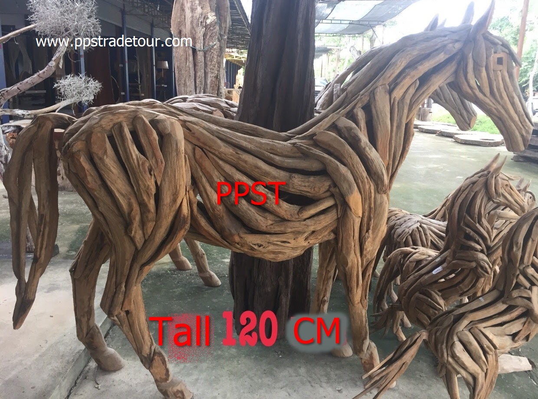 Driftwood Head Horse 33