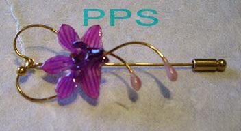 Orchid Pendant - SM-4