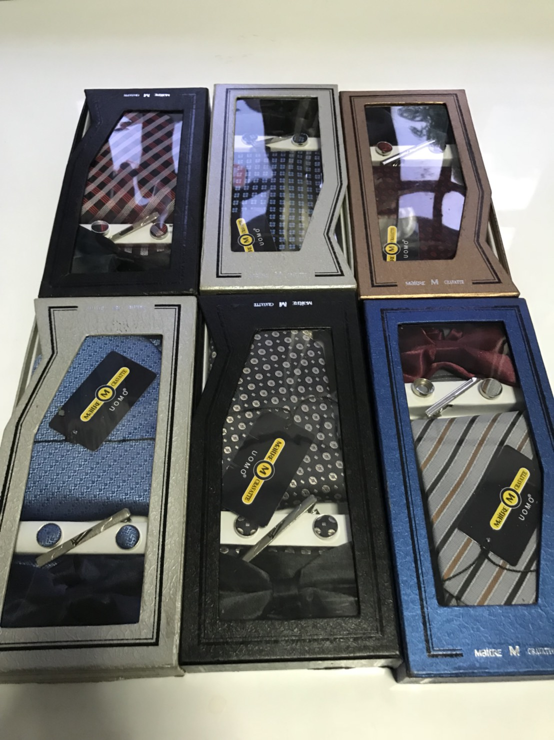 Necktie NT-StripsMix2