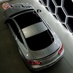 Customer can DIY White for professional car beauty station Hot sale in France auto detailing hexagon led panel