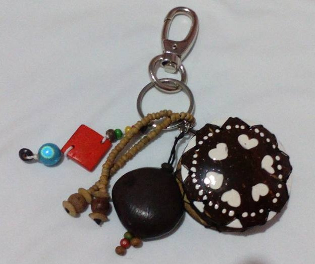 Coconut Shell Coin Purse-KR6