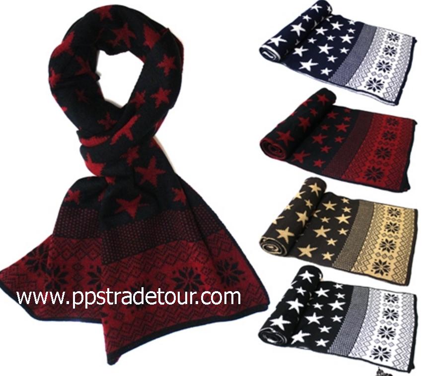 Knitting Wool Men Scarves-PS-SCF91