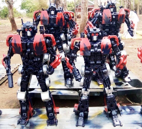 Recycle Metal Robot-33