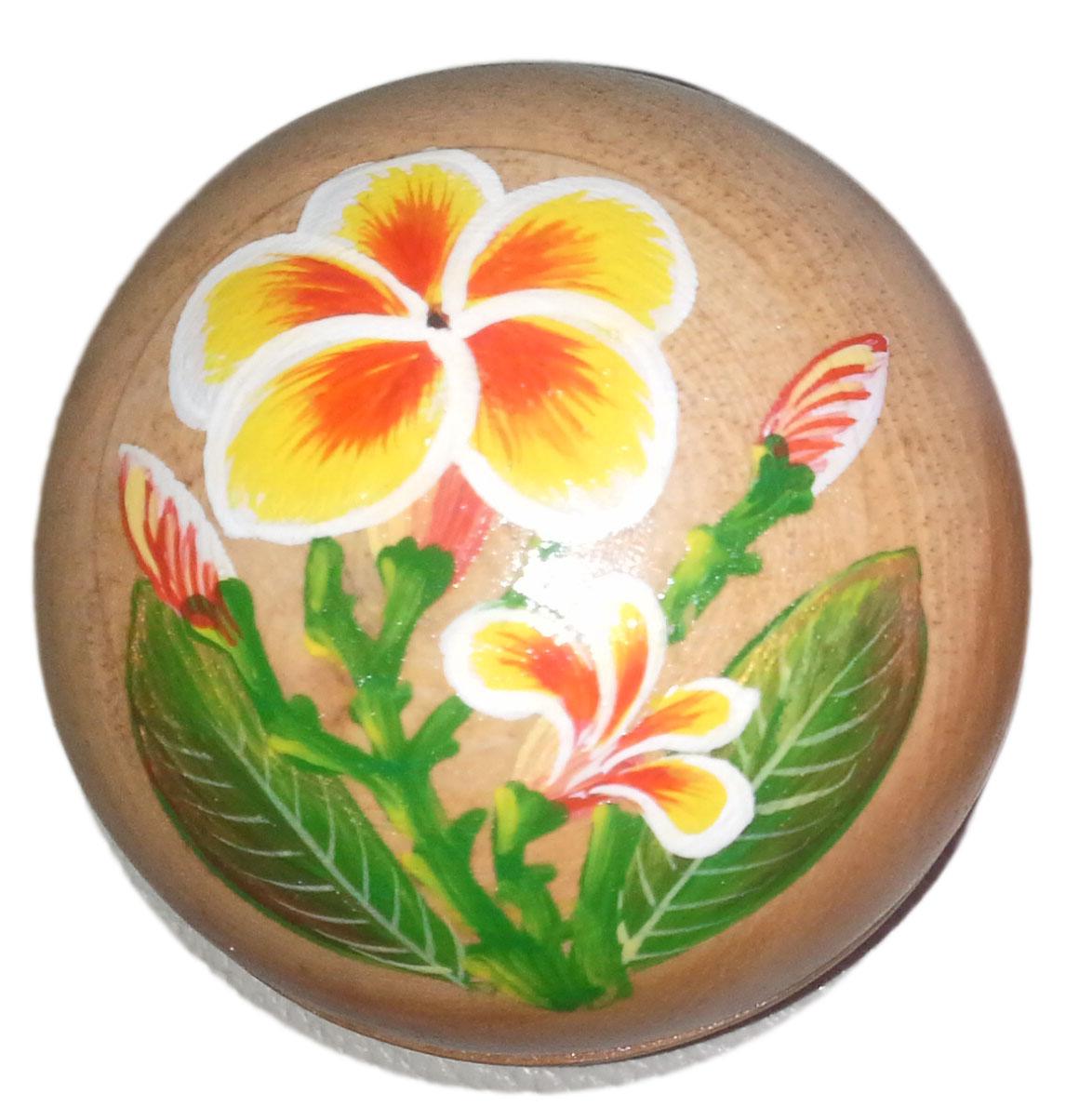 Wood Round Box paint - R30