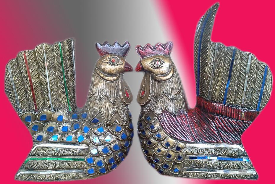 Decorative Hens 1