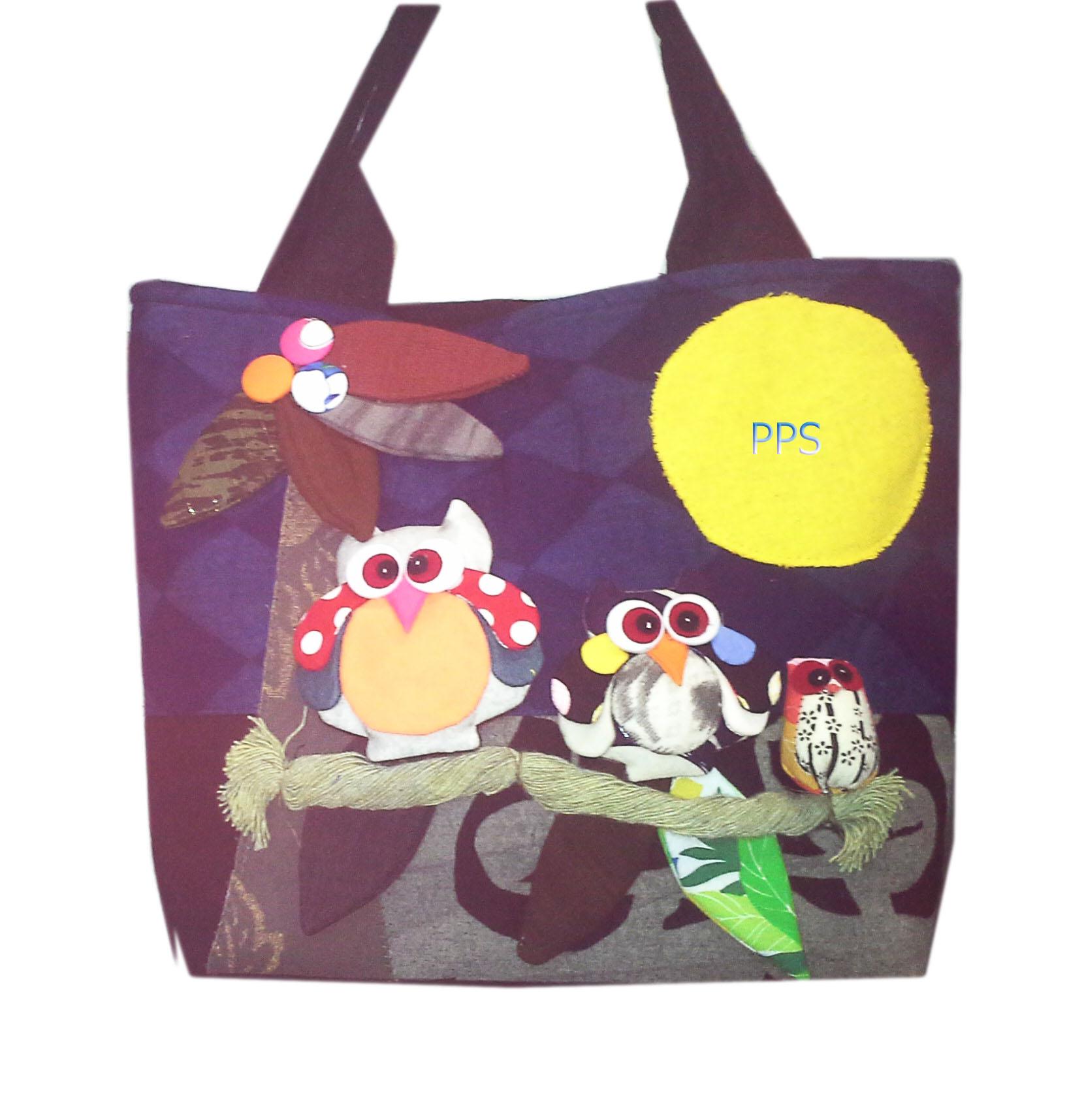 Tote Owl Bag -17