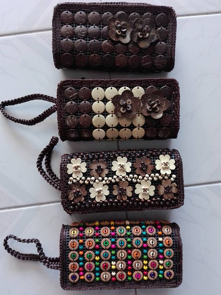 Coconut Shell Purse-1