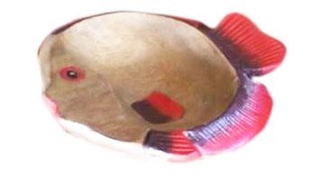 fish shape plate