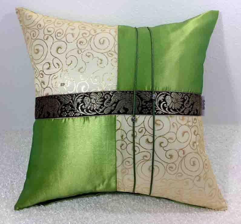 Silk Cushion Pillow Case-215