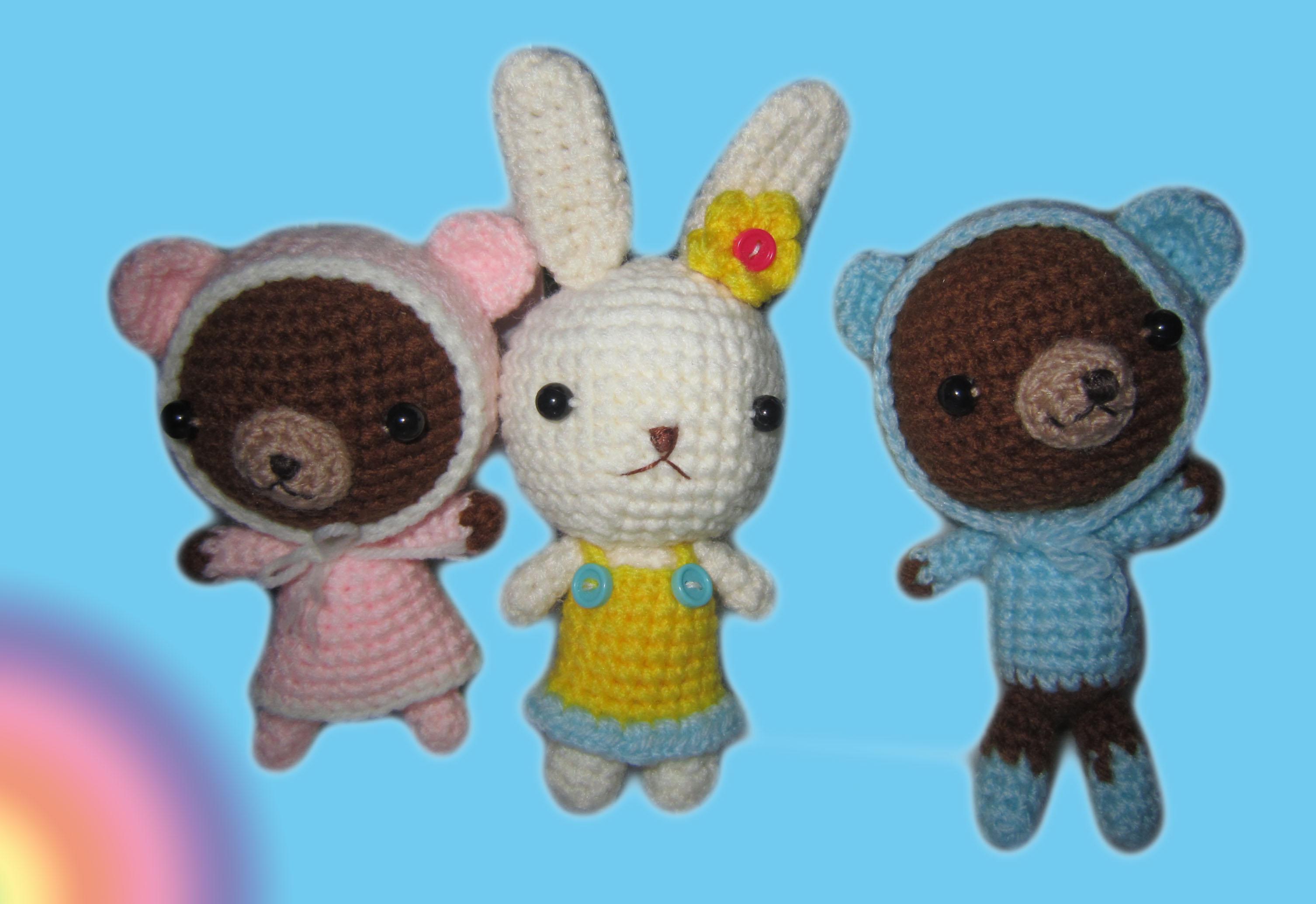 Crochet Doll Keyring-IMG_3254