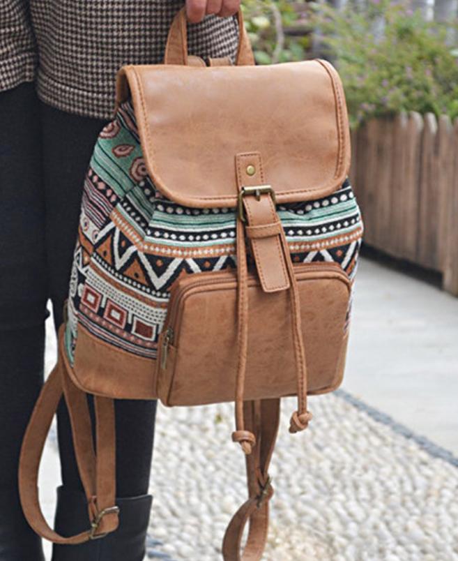 Tribal Pu Backpack-5