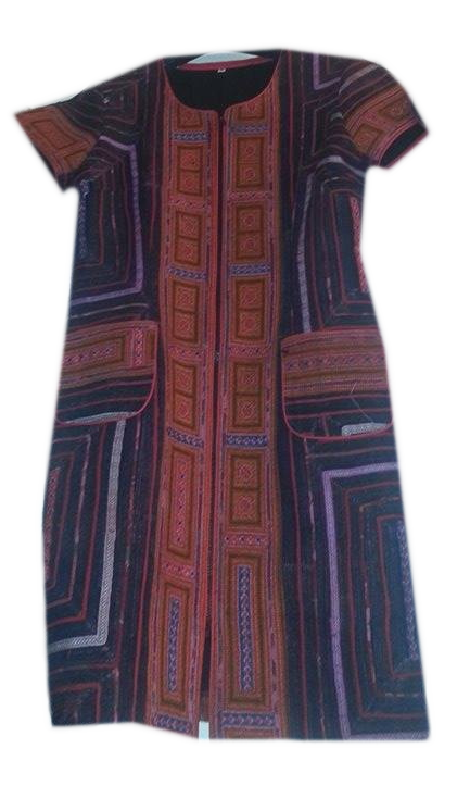 Tribal Patter Dress-14