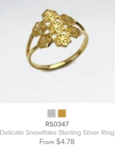 ring PS-BBRS0347-556Gold