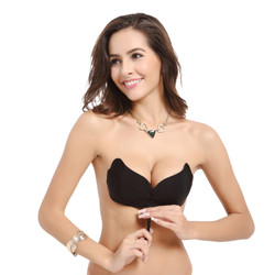 2020 Push up Butterfly Style Silicone Bra Adhesive  Backless Bra silicone adhesive Strapless bra
