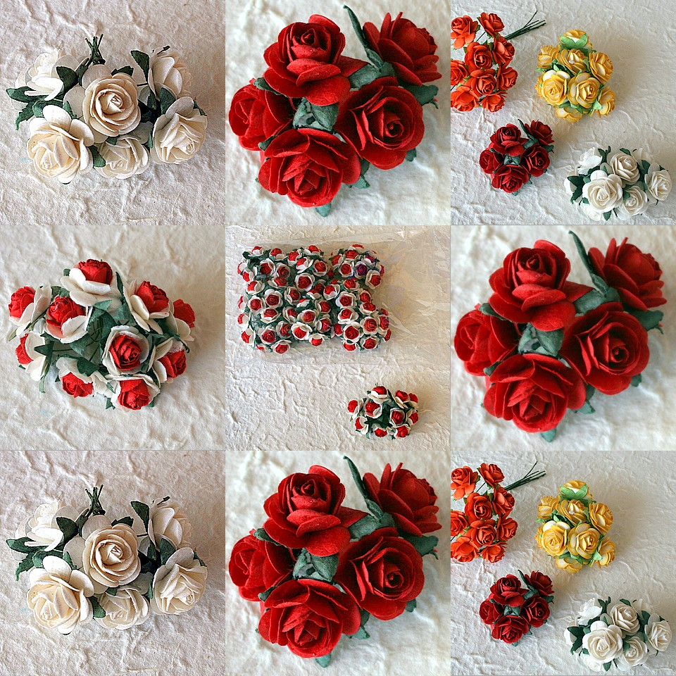 Mulberry Paper flower
