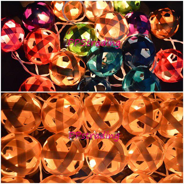 bamboo ball lighting