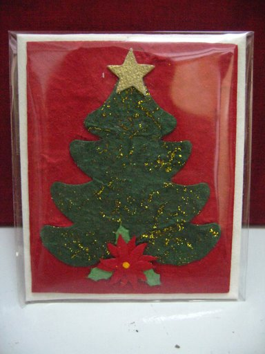 Mulberry Paper Christmas Card-43