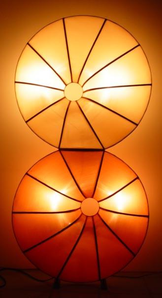 Silk Lamp donut twin shape