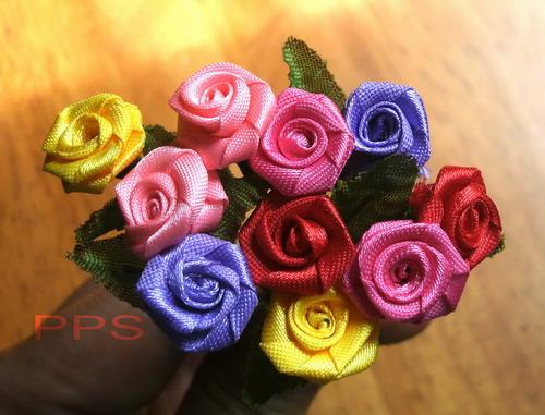 Ribbon mini rose