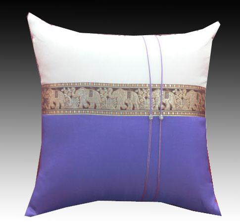 Cushion cover- 2 ton-Purple-1